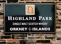 image of Highland PArk sign